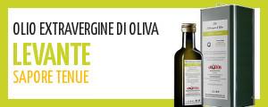 Olio di oliva extravergine abruzzese dal sapore tenue e delicato