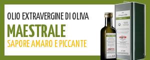 olio di oliva extravergine abruzzese dal sapore amaro e piccante