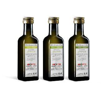 tris di assaggi di olio di oliva extravergine