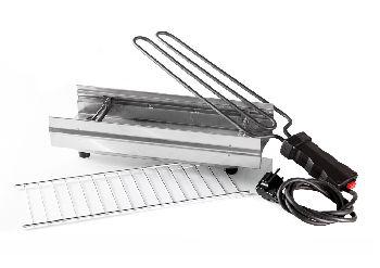 Griglia Elettrica in ACCIAIO INOX Modello ROSTELLA 1200