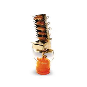Griglia a Gas in ACCIAIO INOX Family Barbeque A10 cm 11,5