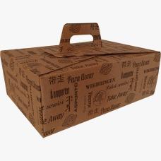 Box per servire gli arrosticini caldi
